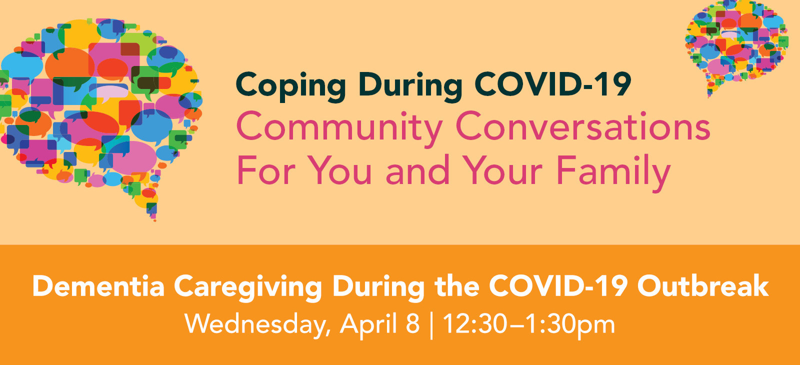 Dementia Caregiving During the Covid-19 Outbreak graphic