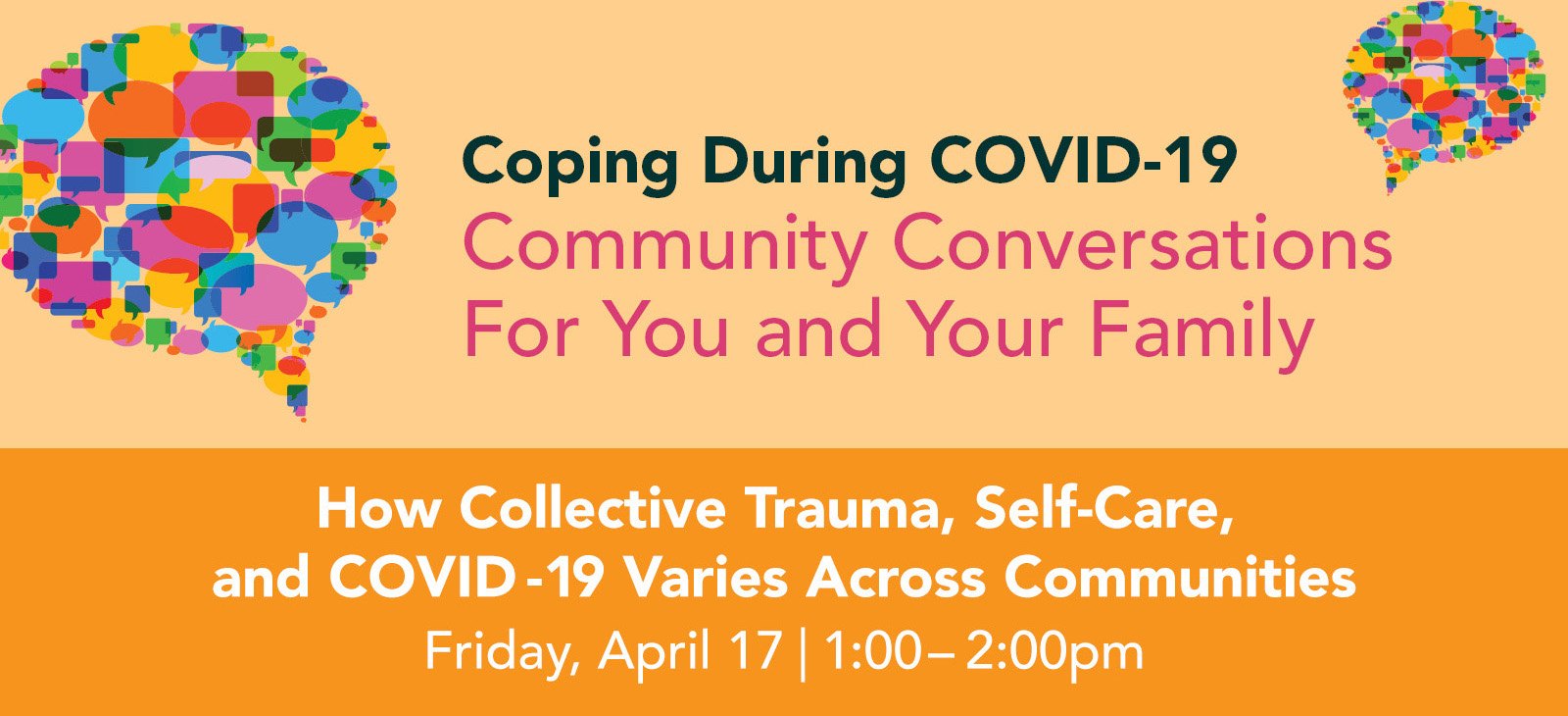 How Collective Trauma, Self-Care, and COVID-19 Varies Across Communities graphic