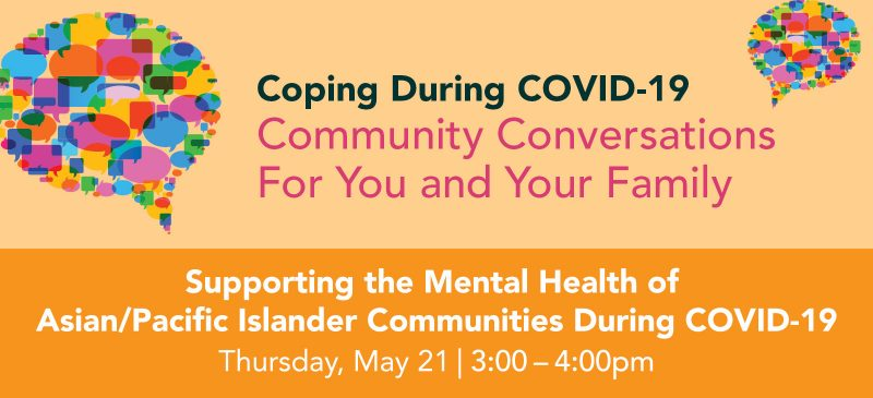 Supporting the Mental Health of APAC Communities During Covid-19 graphic